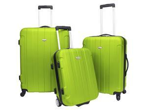 Traveler's Choice Rome 3-Piece Hardshell Spinner/Rolling Luggage Set