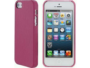rooCASE Ultra Slim Leather Shell Case for iPhone 5/5s