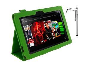 rooCASE Dual Station Folio w/ Stylus for Kindle Fire HD 8.9in.