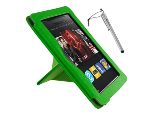 rooCASE Origami Dual-View Case w/ Stylus for Kindle Fire HD 8.9