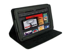 rooCASE Dual View Vegan Leather Case for Kindle Fire