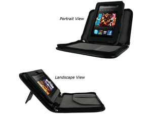 rooCASE Executive Leather Case for Kindle Fire HD 7 (Fits 2012 Model Only)
