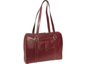 Samsonite Ladies Leather Laptop Satchel