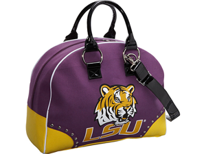 Ashley M Louisiana State University Tigers Travel Satchel