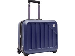 Traveler's Choice Glacier 16in. Hardshell Expandable Rolling Briefcase