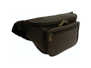 AmeriLeather Jumbo Size Leather Fanny Pack