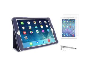 rooCASE iPad Air Dual Station Folio Case - 3-in-1 Bundle