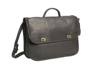 David King & Co. 1/2 Flapover Briefcase