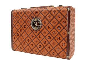 Nicole Lee Adela Embossed 14 Inch Briefcase
