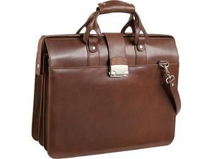 Leather Doctor's Carriage Bag (#1842-02-BROWN)