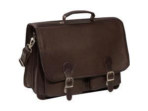 Piel Executive Two Pocket Portfolio