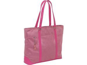 Mobile Edge Komen Faux-Suede Tote - 17in.