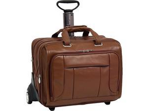 McKlein USA West Town Checkpoint 17in. Wheeled Laptop Case