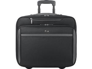 SOLO Sterling CheckFast Rolling 16in. Laptop Case