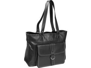 Clark & Mayfield Stafford Pro Leather Laptop Tote 15.6in.