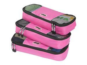 eBags Slim Packing Cubes - 3pc Set - Peony
