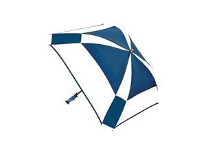 ShedRain WindPro Gellas Auto Open Vented Square Golf Umbrella - Alternating Panels