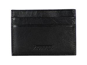 Dr. Koffer Fine Leather Accessories Front Pocket w/ Metal Clip