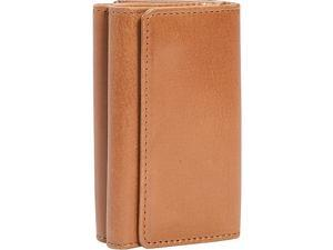 Leatherbay Double Sided Leather Key Case