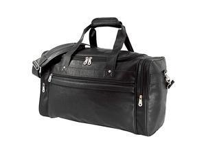 U.S. Traveler Koskin Leather Sport / Travel Carry-On Duffel Bag