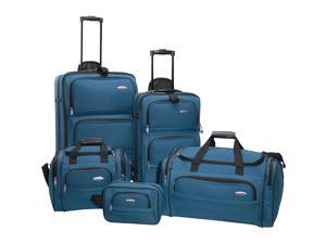 Samsonite 5-Piece Travel Set - Teal Blue