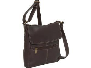 Le Donne Leather Front Flap Crossbody
