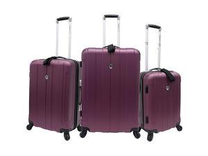 Traveler's Choice Cambridge 3 Piece Hardshell Spinner Set