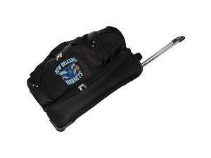 Denco Sports Luggage NBA New Orleans Hornets 27in. Rolling Drop Bottom Duffel