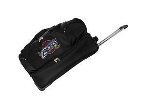 Denco Sports Luggage NBA Cleveland Cavaliers 27in. Rolling Drop Bottom Duffel