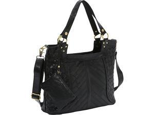 AmeriLeather Hazelle Leather Shoulder Bag