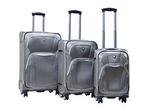 CalPak Dawson 3 Piece Exp. Luggage Set