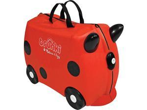 Melissa & Doug Trunki Ruby Rolling Kids Luggage