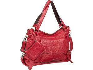AmeriLeather Jumbo Cosimo Crunched Leather Tote