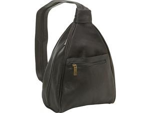 Le Donne Leather Womens Sling Back Pack