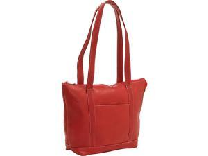 Le Donne Leather Double Strap Pocket Tote