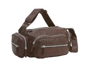 Ashley M Alexandria Zipper Shoulder Bag