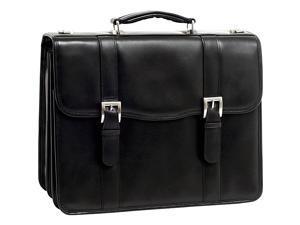 McKlein USA V Series Flournoy Leather Double Compartment Laptop Case