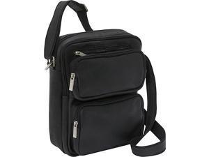 Le Donne Leather Multi Pocket iPad / eReader Day Bag