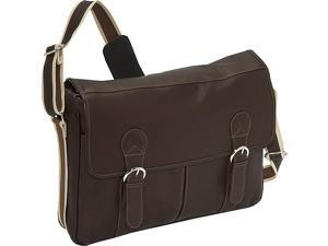 Piel Classic Expandable Laptop Messenger Bag
