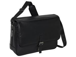 Kenneth Cole Reaction What A Bag! Leather Messenger Computer Case