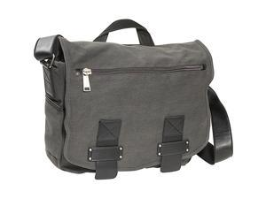 Kenneth Cole Reaction Don?t Mess Out On... Single Gusset Canvas Messenger Bag