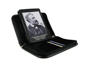 rooCASE Executive Portfolio Leather Case for Amazon Kindle 4