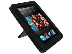 rooCASE Origami Dual-View Vegan Leather Case for Kindle Fire HD 7 (Fits 2012 Model Only)