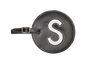 pb travel Leather Initial 'S' Luggage Tag Set of 2