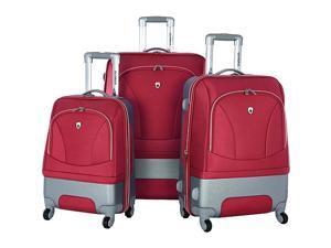 Olympia Majestic 3 Piece Exp. Luggage Set