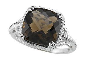 Genuine Smoky Quartz Ring by Effy Collection(R) LIFETIME WARRANTY