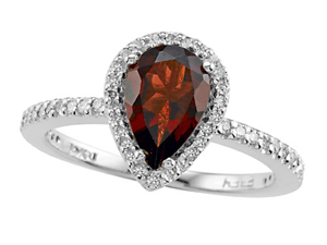 Genuine Garnet Ring by Effy Collection(R) LIFETIME WARRANTY