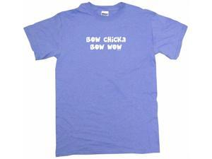 Bow Chicka Bow Wow Men's Short Sleeve Shirt