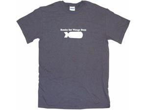 Bombs Get Things Done Men's Short Sleeve Shirt