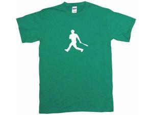 Baseball Batter Hitter Silhouette Logo Men's Short Sleeve Shirt